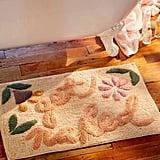Get Naked Floral Bath Mat