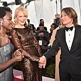 Pictured: Lupita Nyong'o, Nicole Kidman, and Keith Urban