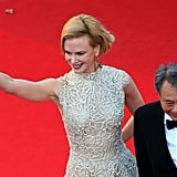 Nicole Kidman was joined by director Ang Lee at the Nebraska premiere in Cannes on Thursday.