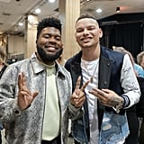 Pictured: Khalid and Kane Brown