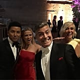 Prabal Gurung, Reese Witherspoon, George Clooney, and Kristen Wiig