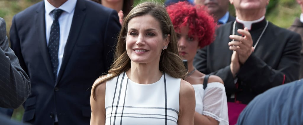 Queen Letizia Is Wearing 2 of the Hottest Trends of the Summer in 1 Item
