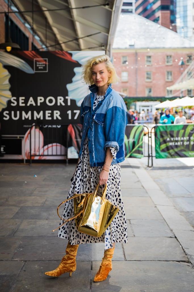 Zanita Whittington's '80s inspired look has all the right contemporary updates.