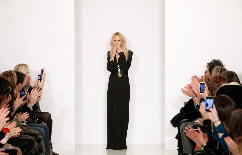 Rachel Zoe was grateful for the love at her show.