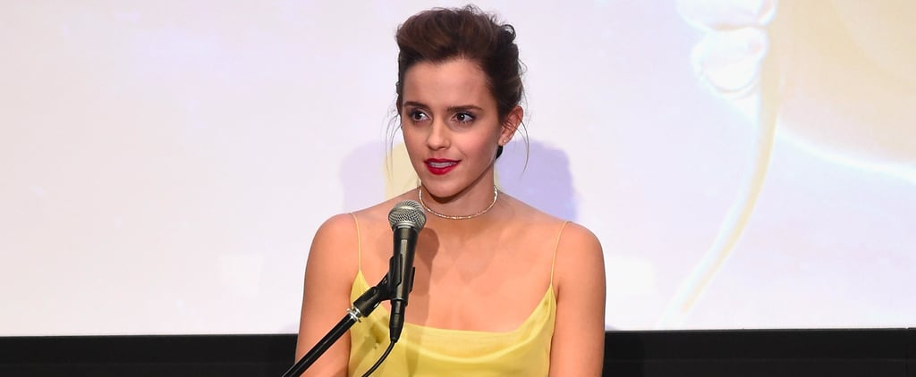Emma Watson's Dior Gown Is Exactly What Belle Would Have Picked IRL