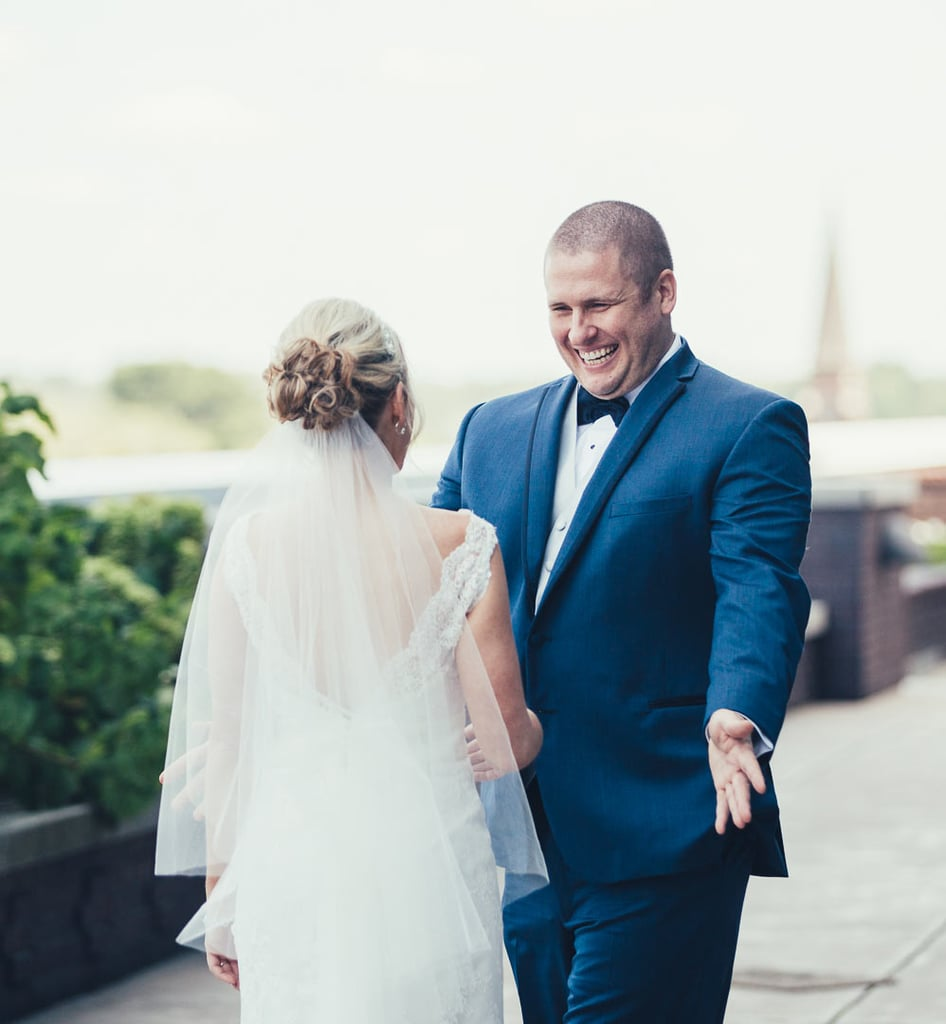 Marrying your sweetheart on top of a roof overlooking a marvelous city sounds like a dream — one that couple Grace and Zach made reality. The two said their vows atop the Regions Tower in Indianapolis. See the wedding here!
