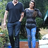 Glee's Cory Monteith and Lea Michele are dating.