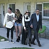 David Rose's Geometric Sweater on Schitt's Creek