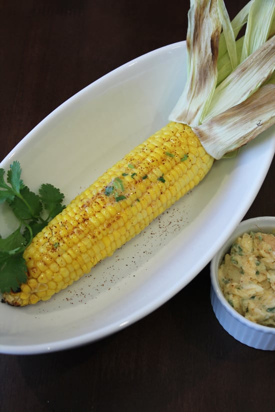 Grilled Corn Recipe With Chile Lime Butter