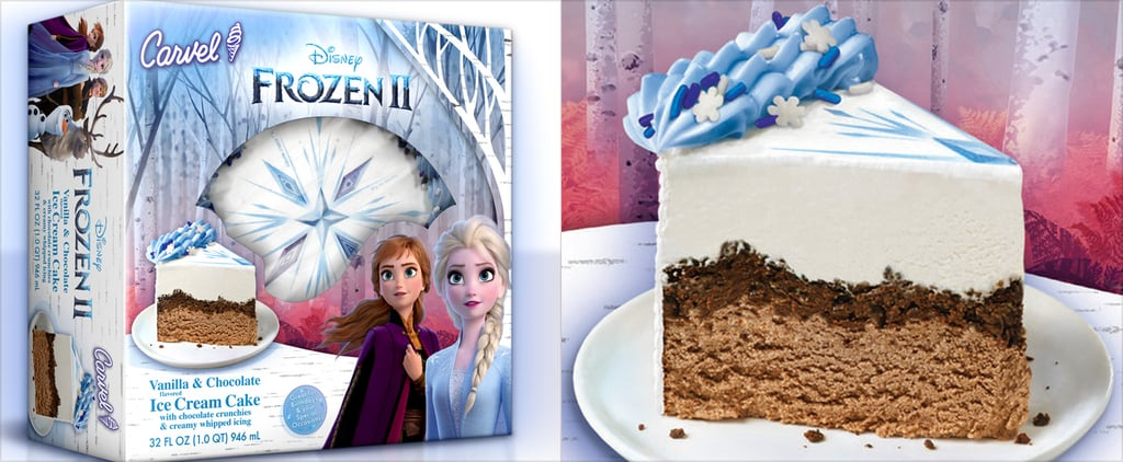 "Disney ""Frozen 2"" Ice Cream Cake"