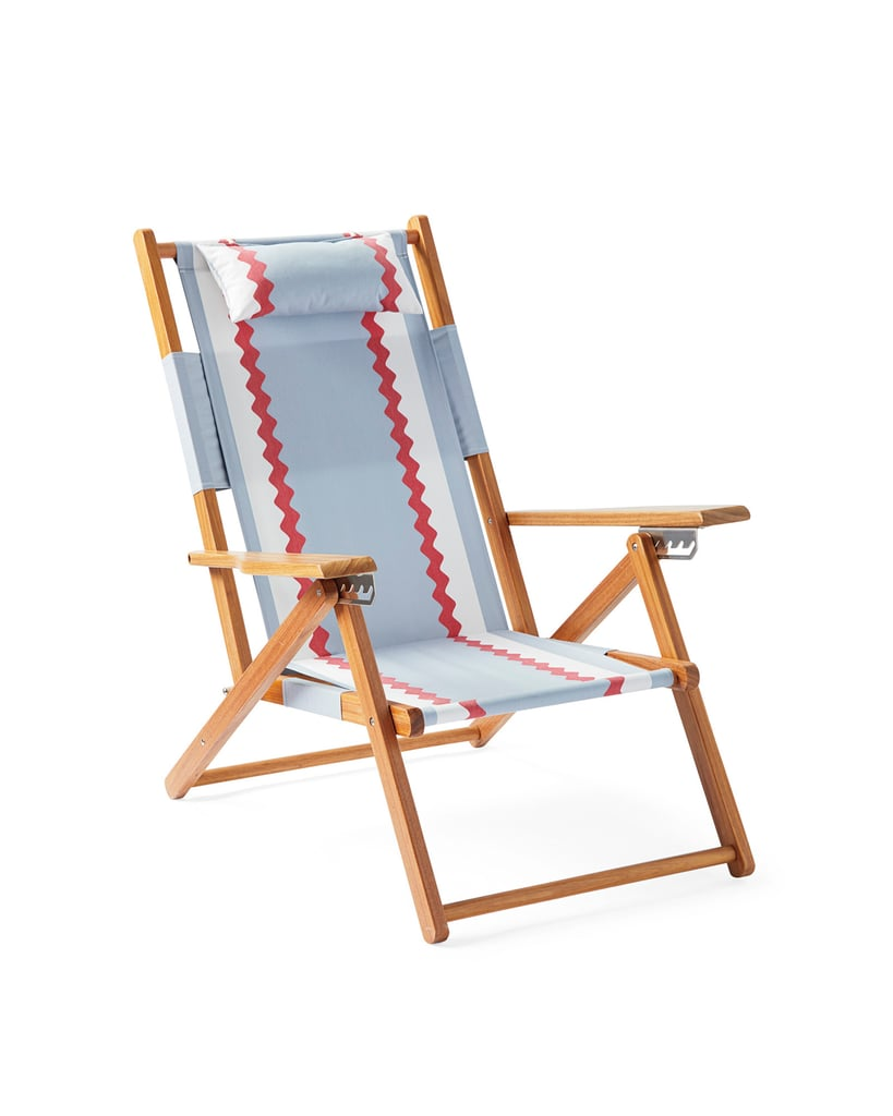 Serena & Lily Teak Beach Chair