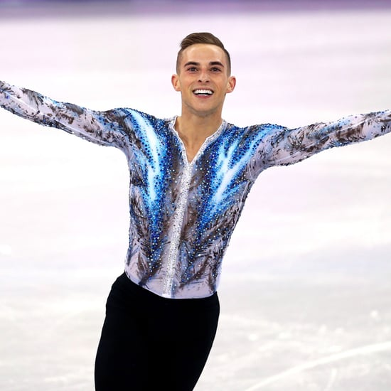 Adam Rippon 2018 Olympic Skating Routine to Coldplay