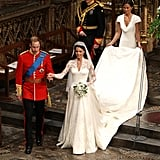 The Royal Family at Prince William and Kate Middleton's Wedding