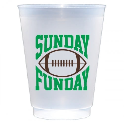 Sunday Funday Frost Flex Cups