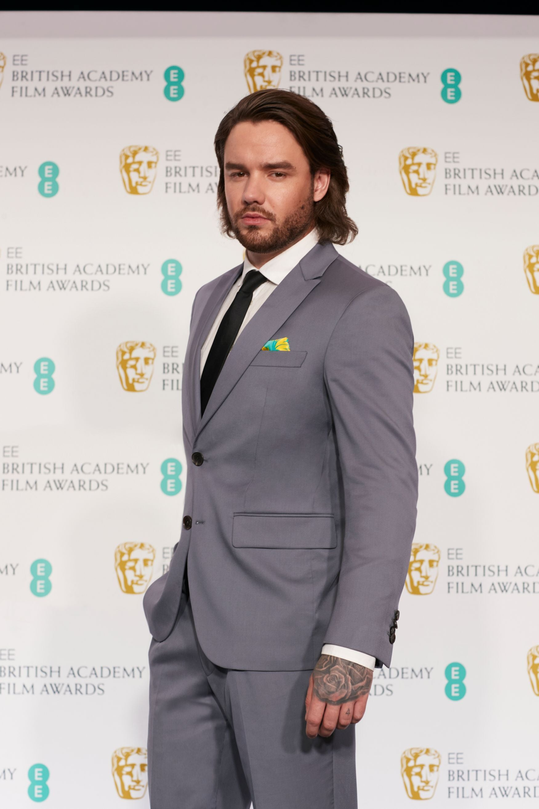 Mandatory Credit: Photo by EE/BAFTA/Shutterstock (11853528b)Sunday 11th April 2021, London: Tonight, Liam Payne opened the 2021 EE BAFTA Film Awards, with a spectacular performance that saw his avatar beamed onto the stage of Royal Albert Hall as a hologram, powered by EEs 5G award-winning network. Ahead of the ceremony, EE brought fans closer to the action giving them the first-look in an exclusive AR pre-show, made for mobile.74th British Academy Film Awards, Arrivals, Royal Albert Hall, London, UK - 11 Apr 2021