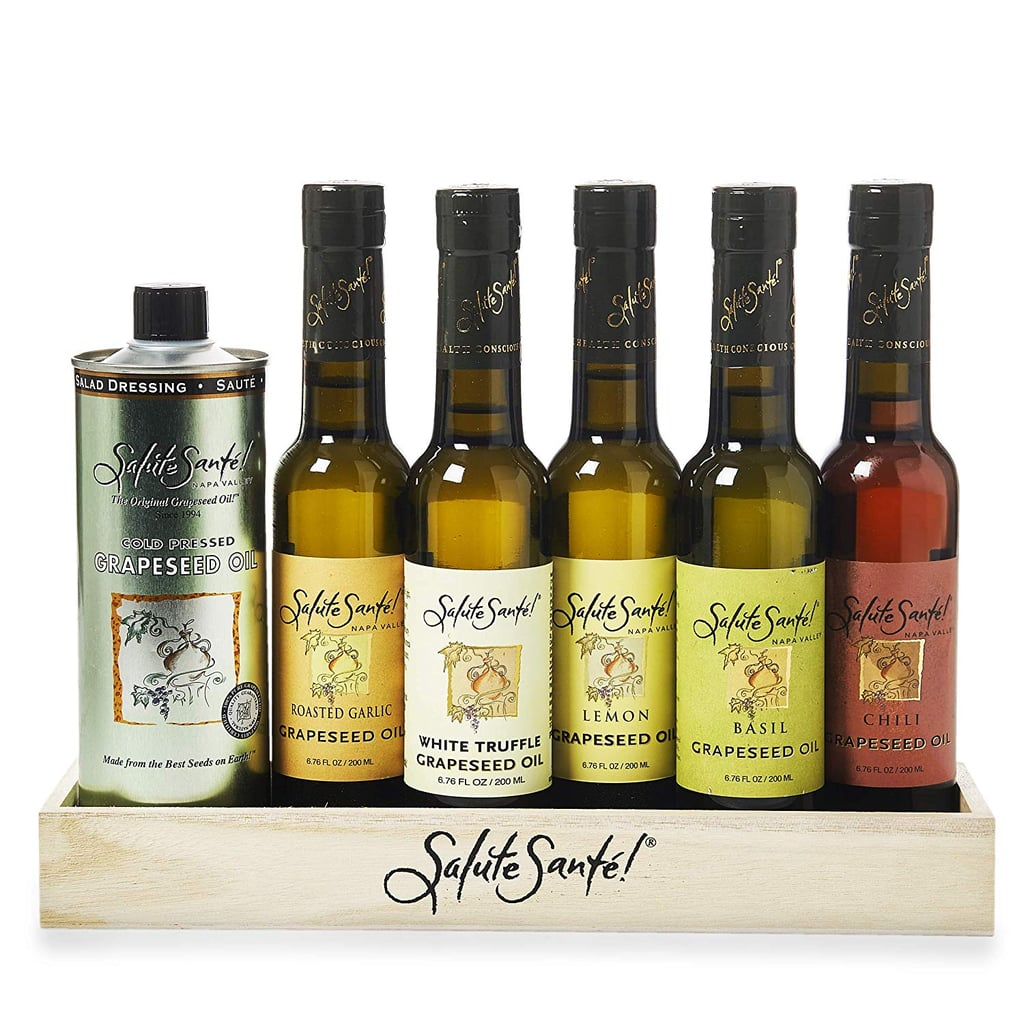 Infused Liquid Spice Grapeseed Oil Gift Set