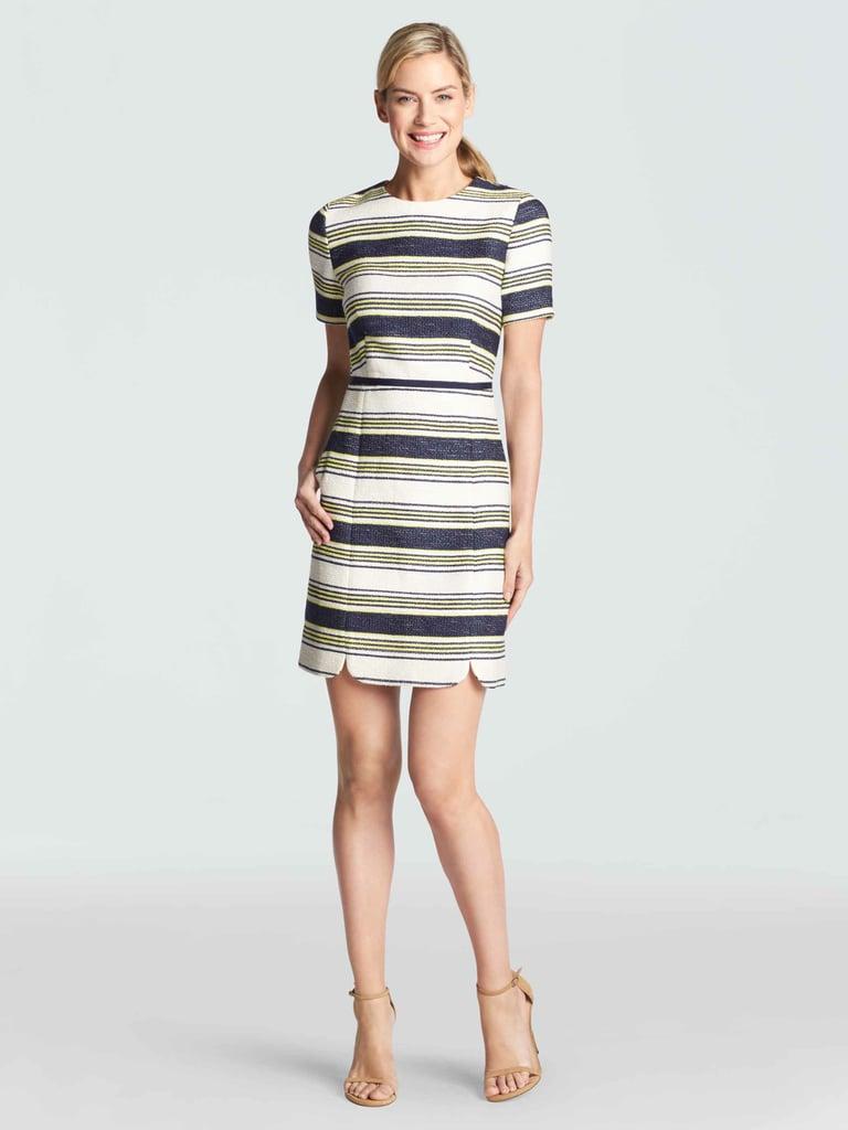 Sterling Stripe Tweed Dress ($235)