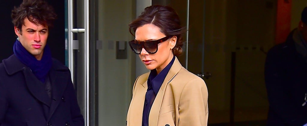 Victoria Beckham Dared to Wear These Sky-High Heels in Winter