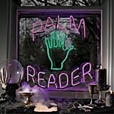"""Palm Reader"" Neon Sign"