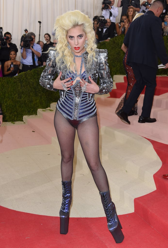 Lady Gaga at the 2016 Met Gala