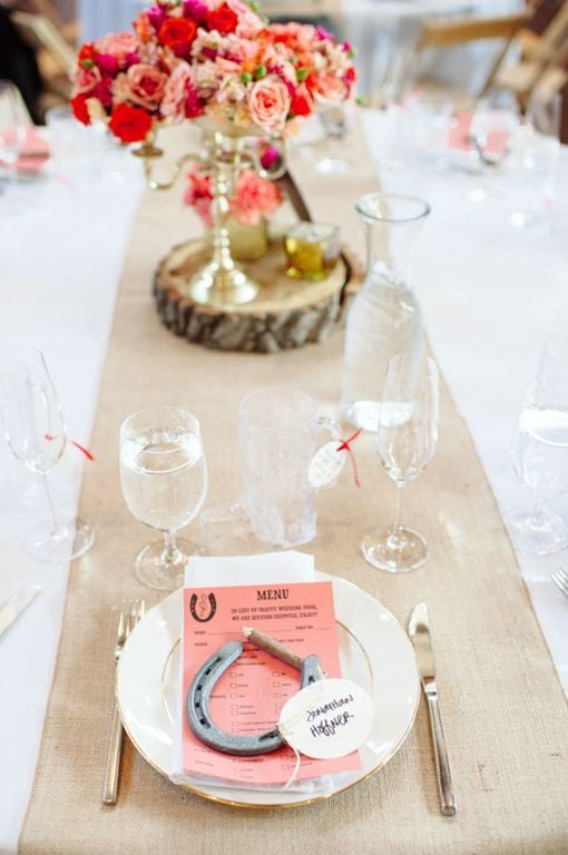 Horseshoe Place Settings