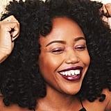 Glitter Strobing on Lips: Deep Skin Tone