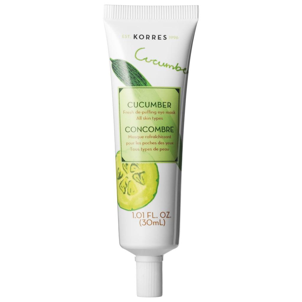 Korres Cucumber Fresh De-Puffing Eye Mask