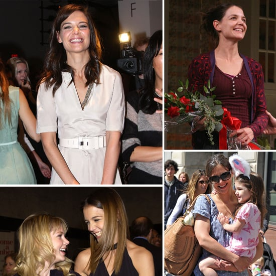 Pictures of Katie Holmes Smiling Over the Years
