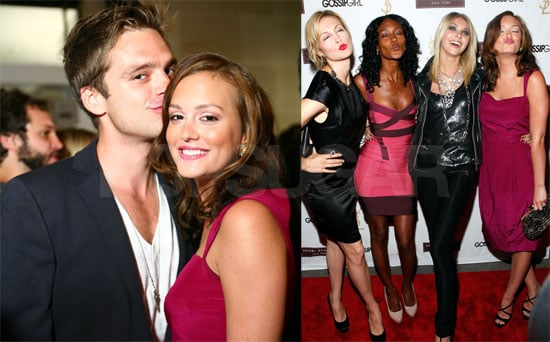 Photos of Gossip Girl Cast at Season Two Premiere Party at Henri Bendel in New York City