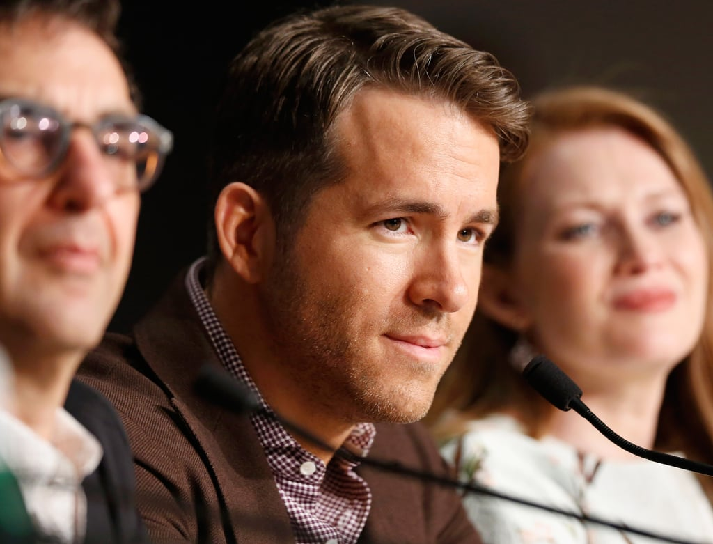 "Ryan Reynolds Talks Holding Blake Lively Captive and ""Grade-A Sh*t"" Advice in Cannes"