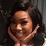 Brandy smiled for the camera. Source: Instagram user 4everbrandy