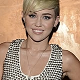 Miley Cyrus showed off her cropped 'do in LA.