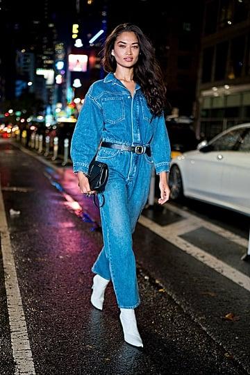 Victoria's Secret Models' Street Style