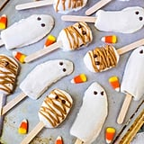 Halloween Banana Popsicles