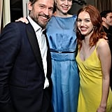 Pictured: Hannah Murray, Nikolaj Coster-Waldau, and Gwendoline Christie