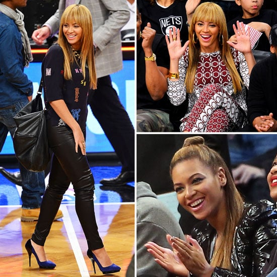 Stalk Beyonce's Stella Courside Style at the NBA!