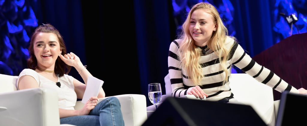 Maisie Williams's Joke About a Major Game of Thrones Death Has Fans on Edge