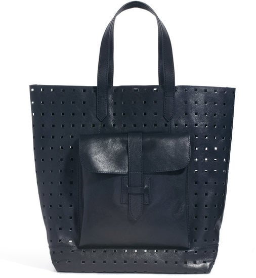 Your leather tote might be just a little too much to haul around in this heat, but French Connection's Leather Perforated Shopper ($161) would make a cooler alternative.