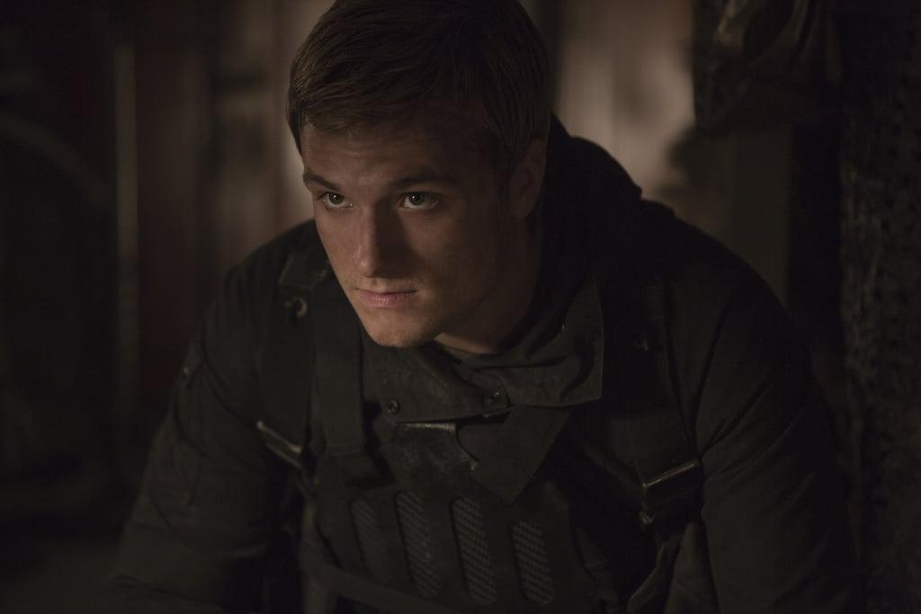 Josh Hutcherson as Peeta.