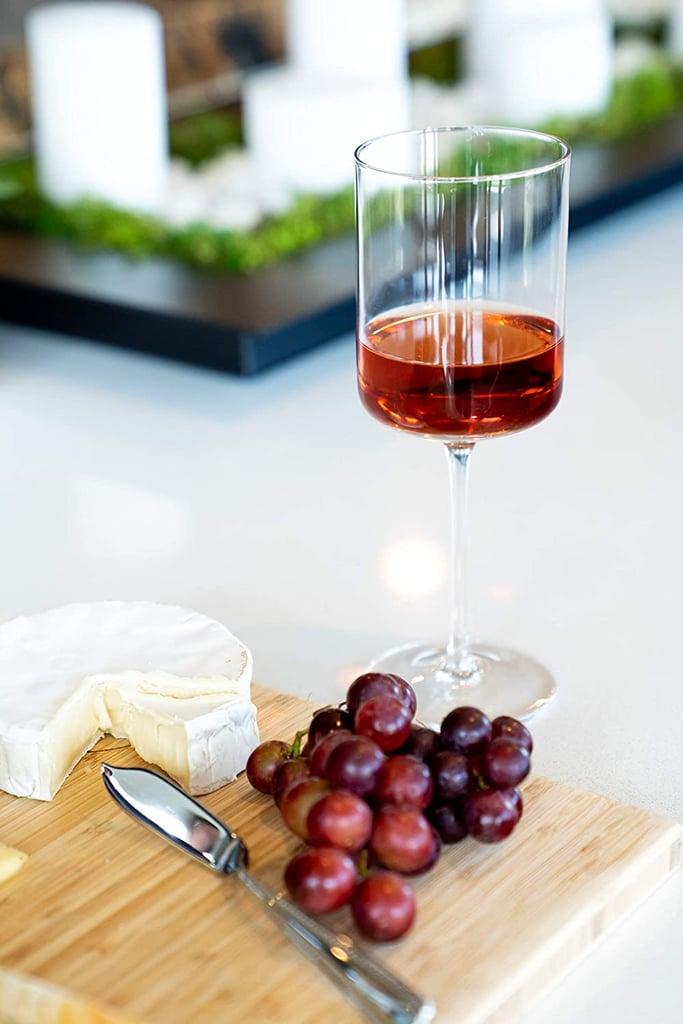 Aspen and Birch Modern Wine Glasses