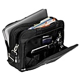Nylon Expandable Double Compartment Laptop Briefcase