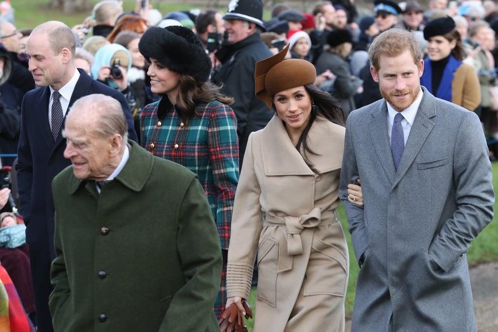 Buckingham Palace Christmas Reception | Harry and Meghan's