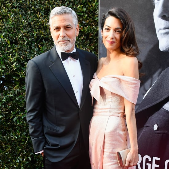 Amal Clooney's Pink Prada Gown