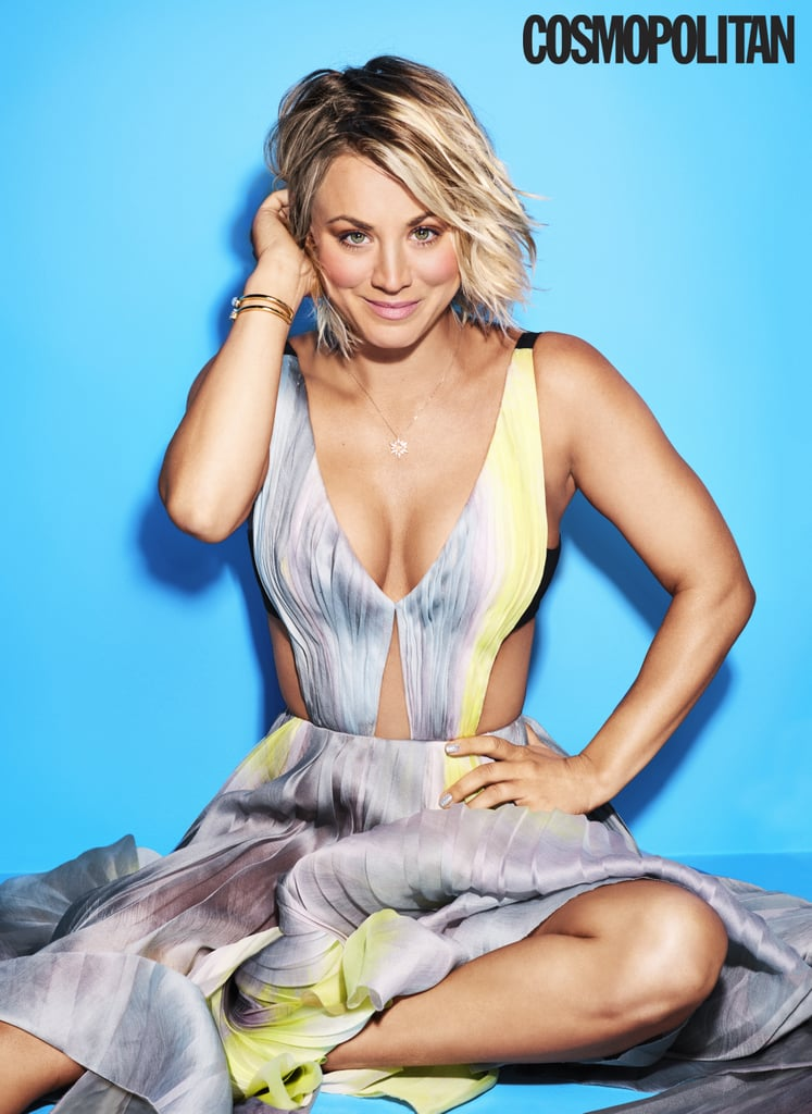 Kaley Cuoco Talks About Feminism in Cosmopolitan April 2016