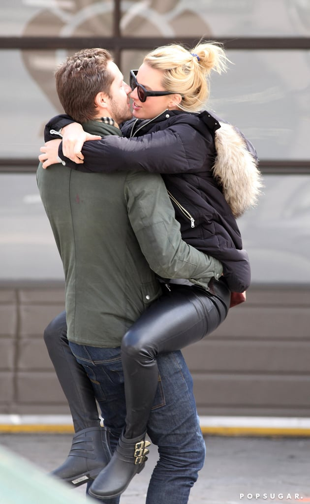 Margot Robbie Straddles And Kisses Tom Ackerley  Pictures -1680