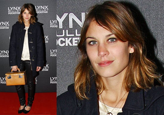 27/11/08 Alexa Chung and Alice Dellal