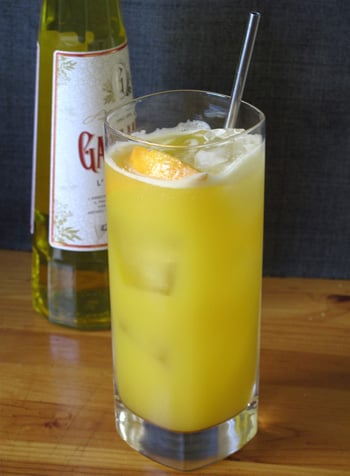Martin Cate's Classic Harvey Wallbanger Recipe