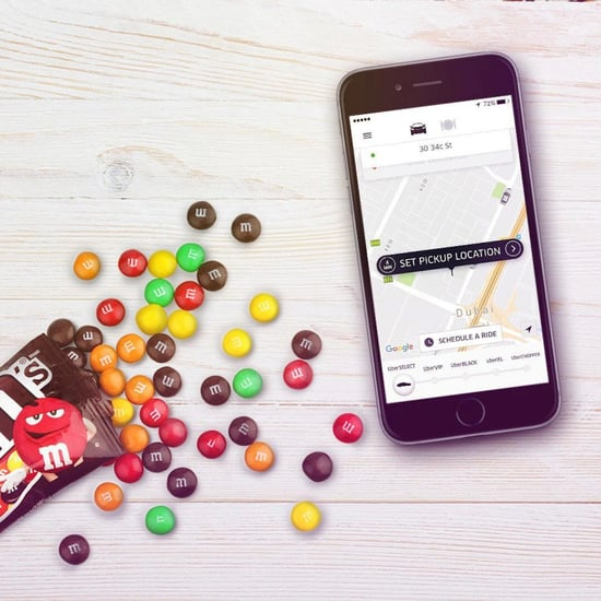 Uber UAE Filling Cars With M&Ms and OSN TV | November 2016