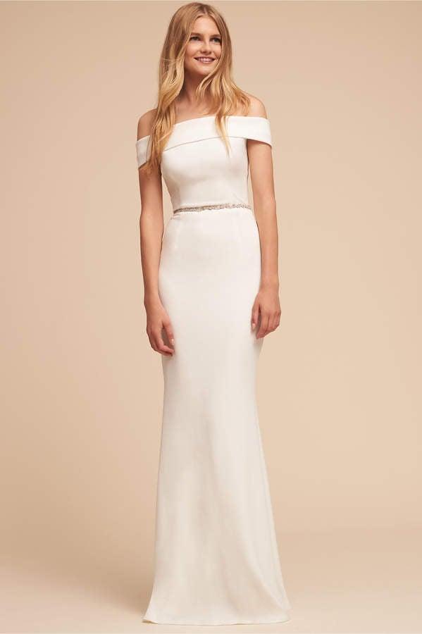 Bhldn Katie May Legacy Dress Best Bhldn Wedding Dresses Popsugar