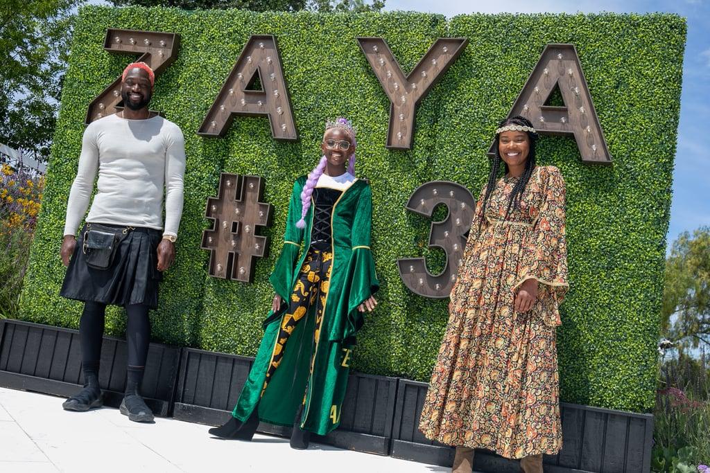 See Photos of Zaya Wade's Medieval 13th Birthday Party